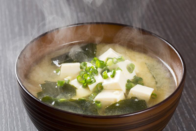 Sopa vegetal amb tofu